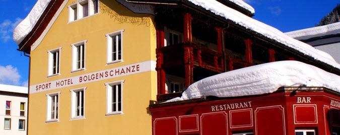 Bolgenschanze, Prättigau/Davos