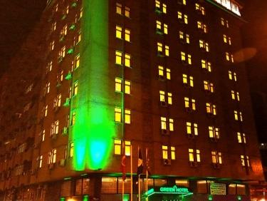 Green Hotel, Merkez