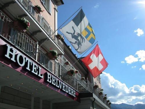 Hotel Belvedere Scuol, Inn