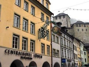 Central Hotel Lowen, Feldkirch