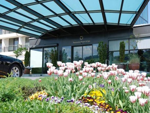 Panorama Resort & Spa, Höfe
