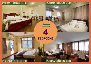 Whole House/ 12Pax/4Bedroom/ Stay+Experience, Bangkok Yai