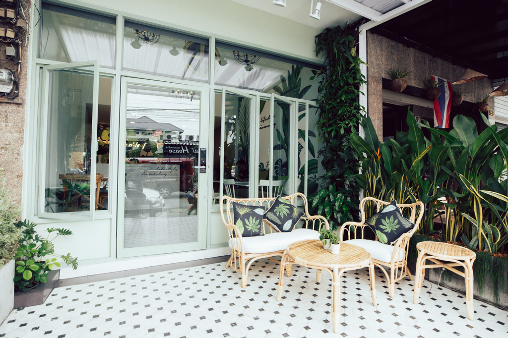 Live n' Leaf life style homestay and cafe, Muang Chiang Mai
