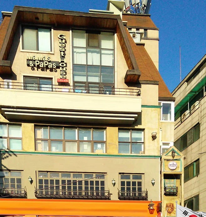 Mamas and Papas Guesthouse and Apartments in Seoul, Seodaemun