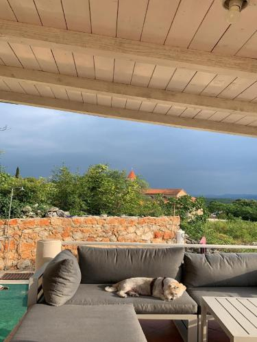Holiday Home with Sea View, Vrbnik