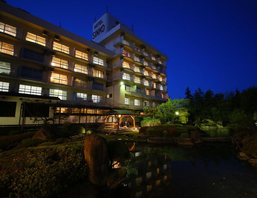 Ooedo Onsen Monogatari Hotel Shinko, Fuefuki