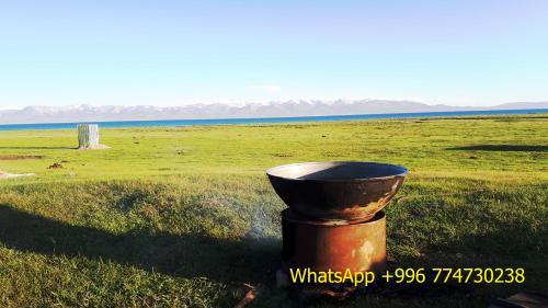 """Song Kol Lake """"Tilek yurt camp"""", Song-Kol"""