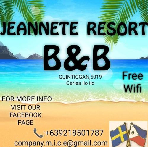 Jeanette Resort Carles Iloilo, Carles