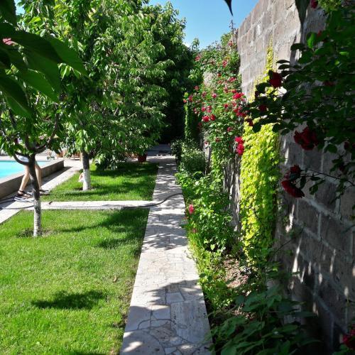 Green paradise near Erevan,