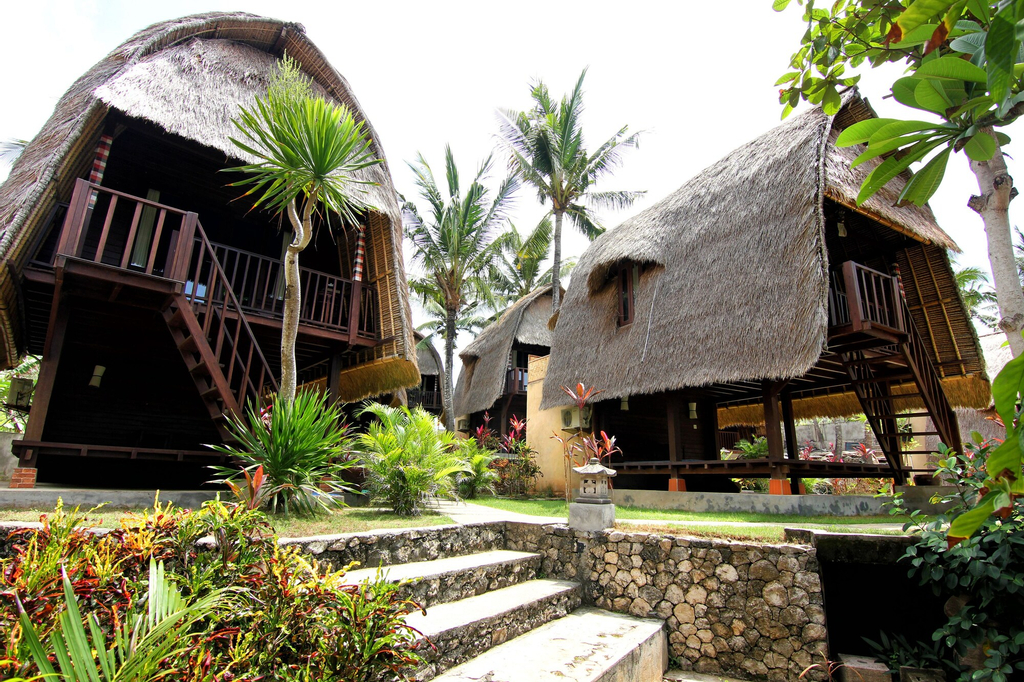 Secret Point Huts, Klungkung