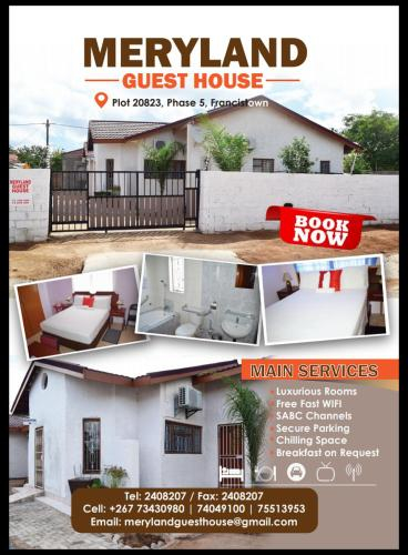 MERYLAND GUESTHOUSE, Francistown