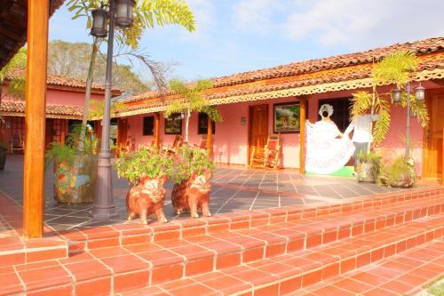 Casa de Quincha, Las Tablas