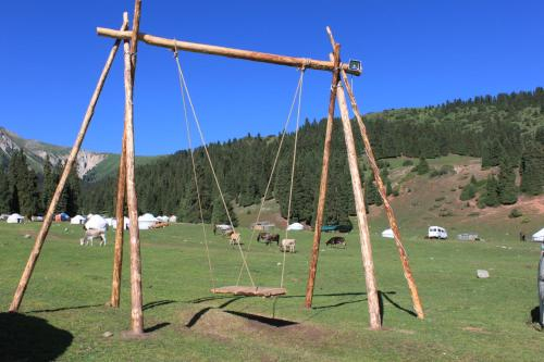 Yurt camp, Djety-Oguz