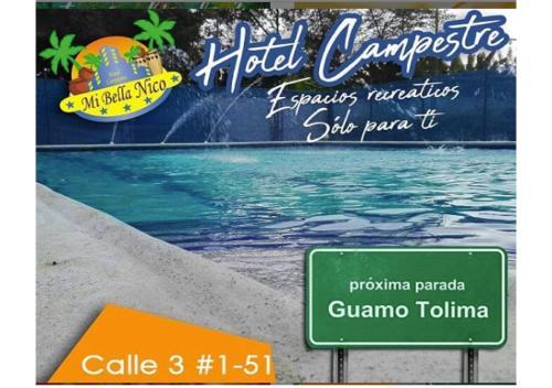 Hotel Mi Bella Nico, Guamo