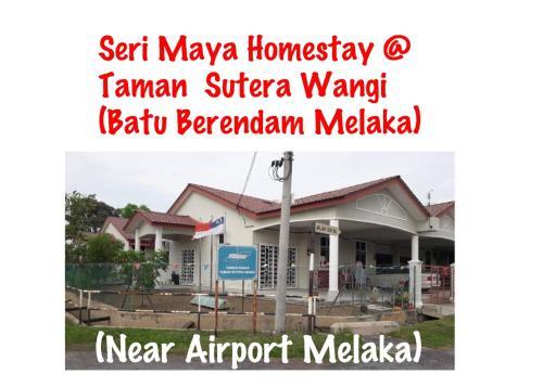 Seri Maya Homestay @ Batu Berendam Melaka, Kota Melaka