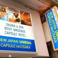 Capsule Inn Osaka - Men Only, Osaka