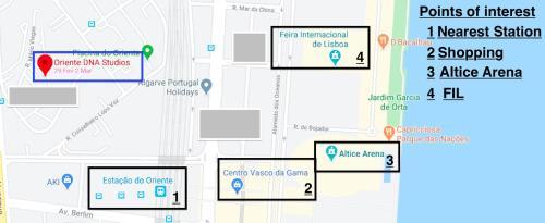 Oriente DNA Studios, Lisboa
