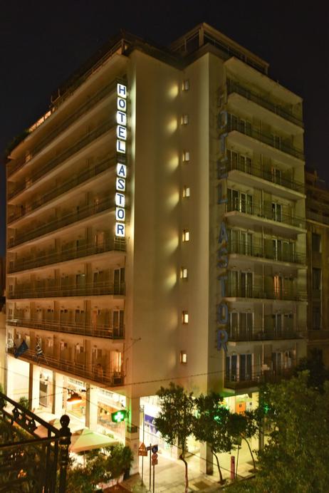 Astor Hotel, Attica