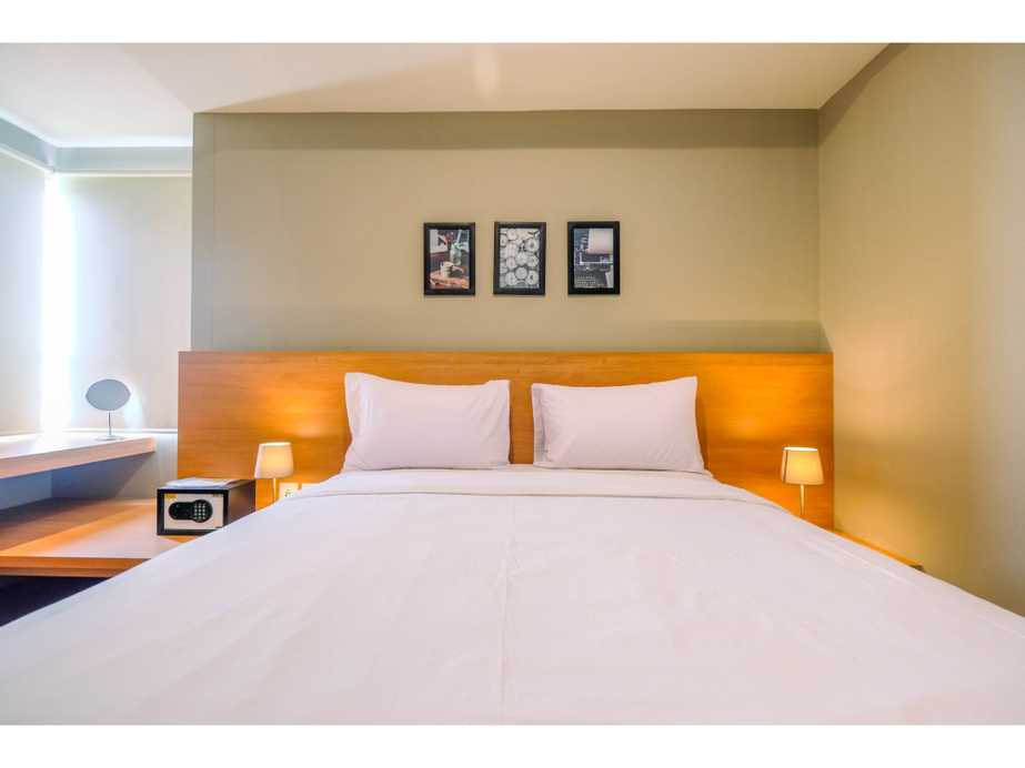 Wonderful 1BR Apartment at Mustika Golf Residence with Golf View By Travelio, Cikarang