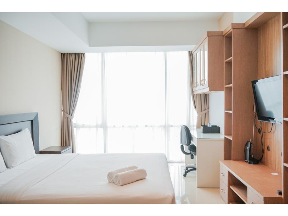 Elegant and Trendy Studio Apartment at U Residence By Travelio, Tangerang
