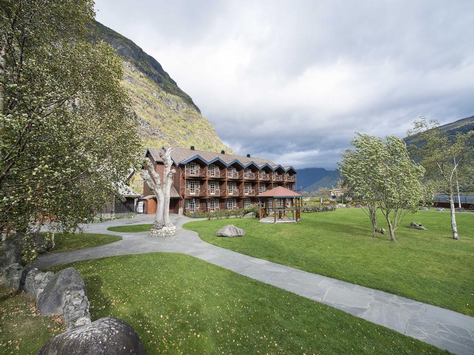 Flåmsbrygga Hotell, Aurland