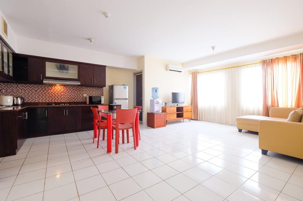 2 Bedroom Taman Rasuna Tower 18 By Travelio, Jakarta Selatan