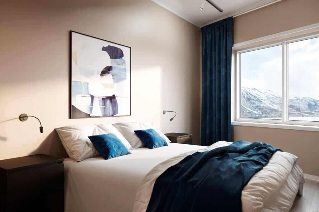 Luxury downtown apartments ap 401, Tromsø