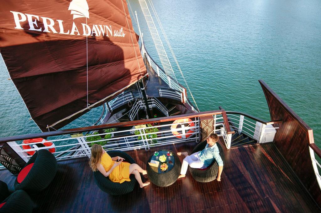Perla Dawn Sails, Hải An