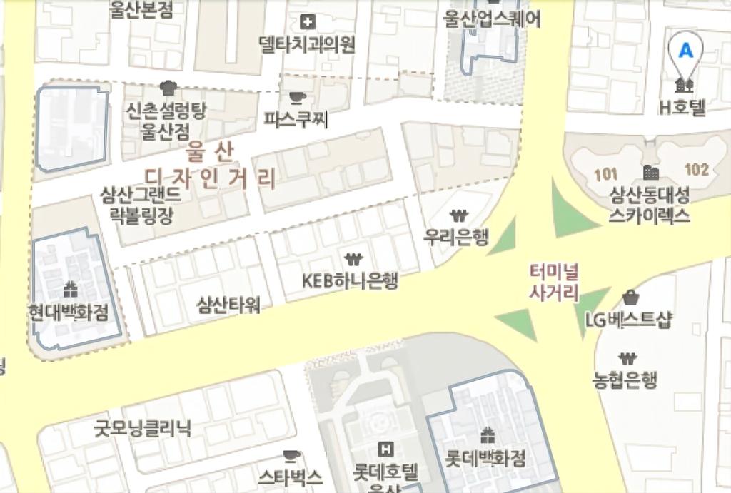 H Hotel Ulsan, Jung