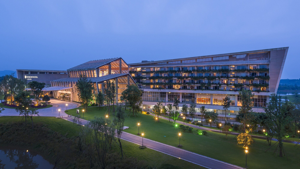 InterContinental Heilong Lake, Meishan