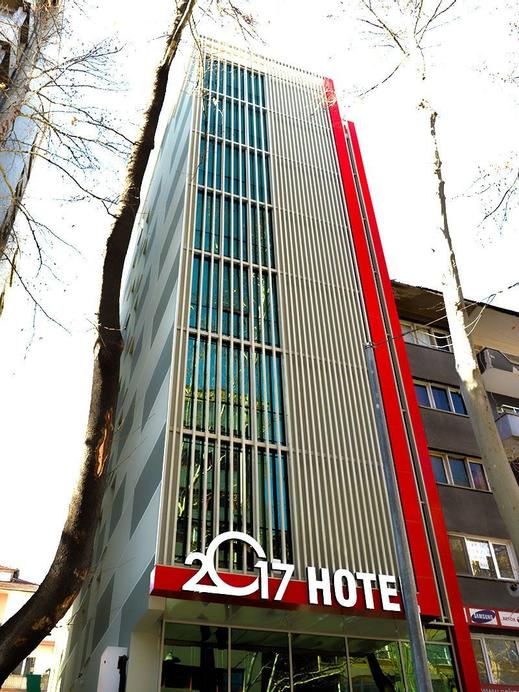 2017 Hotel, Çankaya