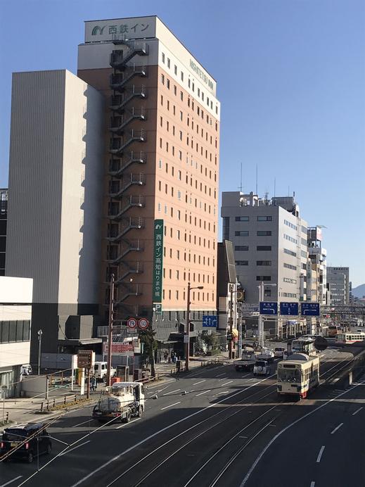 Nishitetsu Inn Kochi Harimayabashi, Kōchi