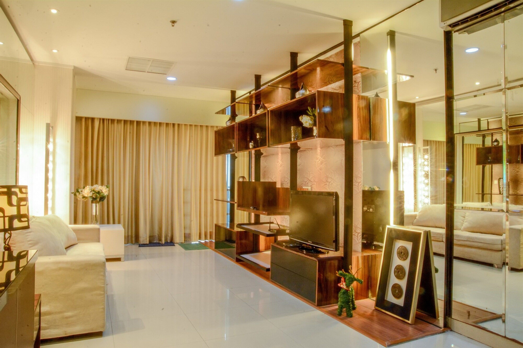 2 Bedrooms Apartment at Sahid Residence by Travelio, Central Jakarta