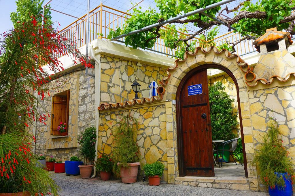 Omodos Village Houses,