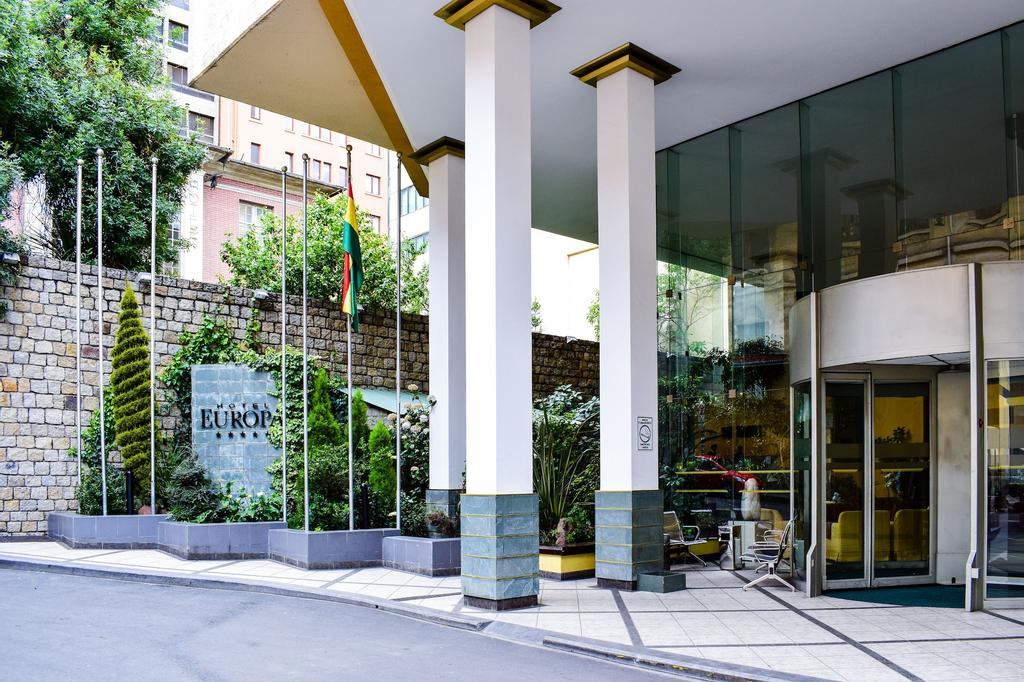 Hotel Europa La Paz, Pedro Domingo Murillo