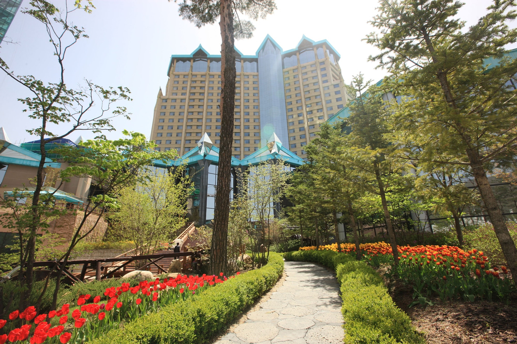 High1 Grand Hotel Main Tower (Kangwonland Hotel), Jeongseon