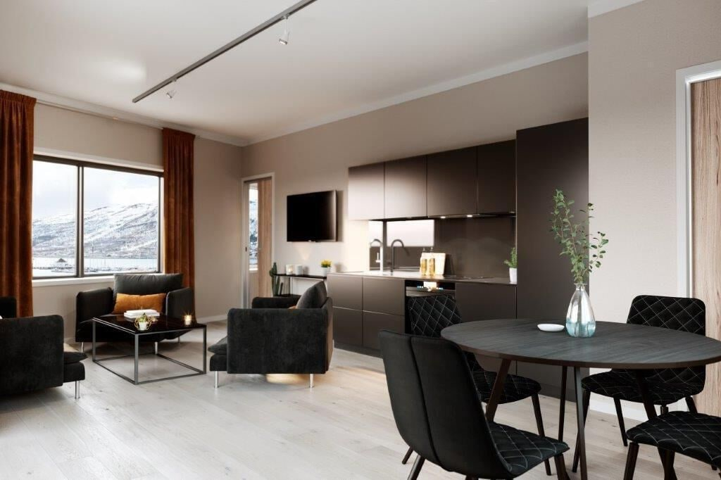 Luxury downtown apartments ap 202, Tromsø