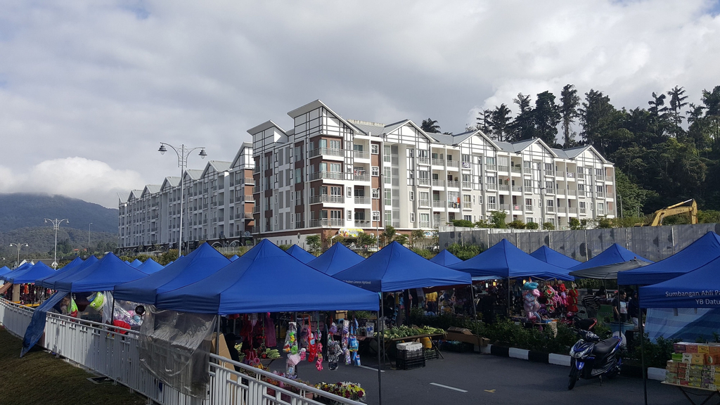 My 3 Rooms Apartment at Golden Hills, Cameron Highlands