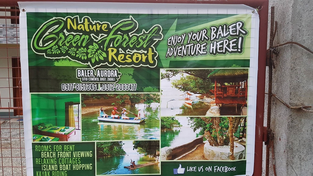 Nature Green Forest Resort, Baler