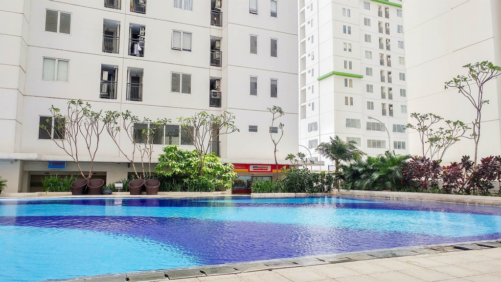 Comfy 2BR Bassura City Apartment Near Bassura Mall, East Jakarta