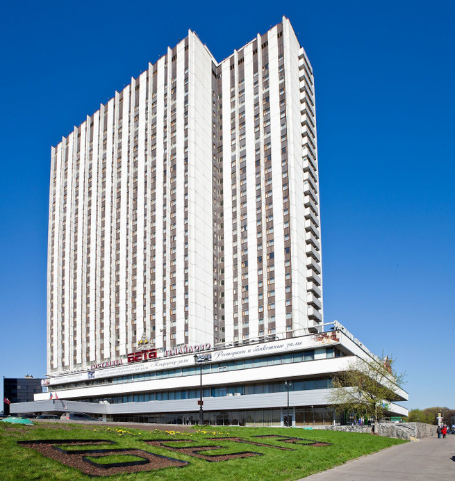 Izmailovo Beta Hotel, Eastern