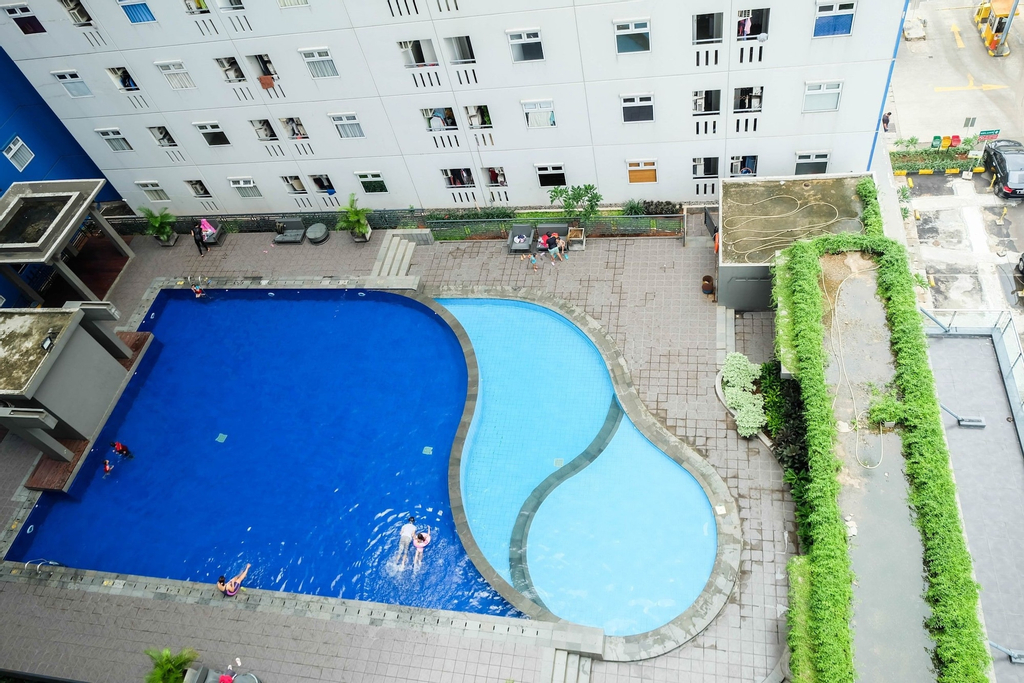 Homey 2BR @Green Pramuka Apartment, Jakarta Pusat