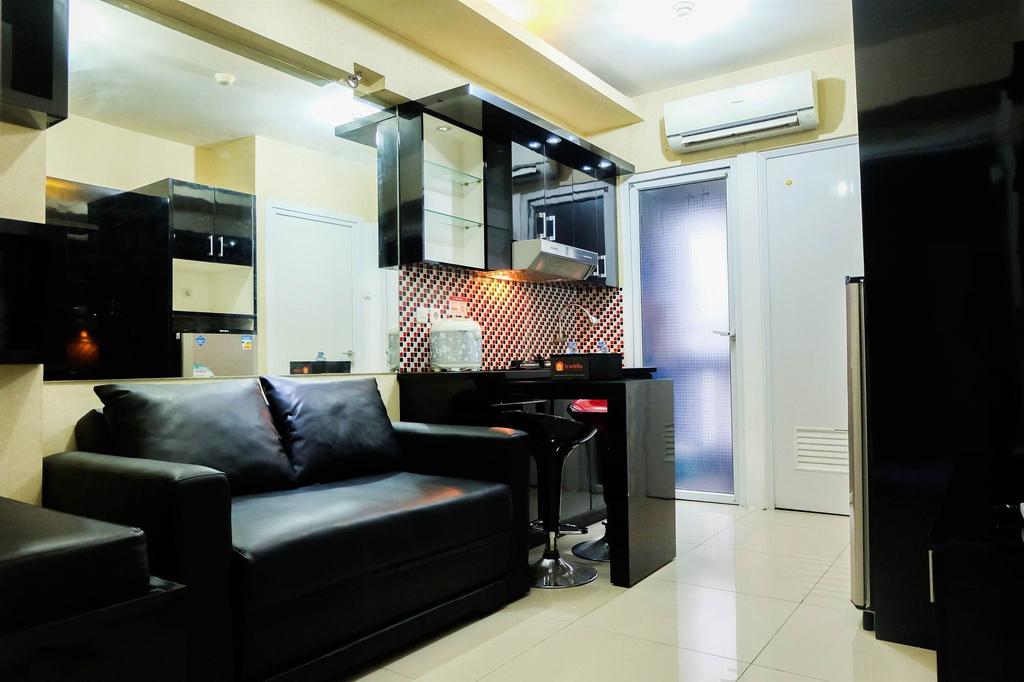 2BR Scenic Green Pramuka City Apartment, Central Jakarta