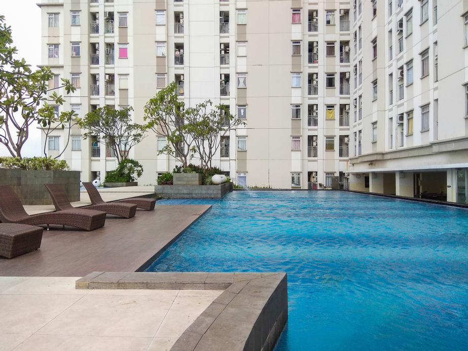Modern and Classy 1BR Green Lake Sunter Apartment, North Jakarta