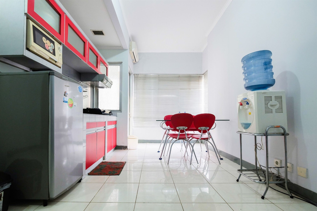 Simple 2BR Sudirman Park Apartment, Central Jakarta