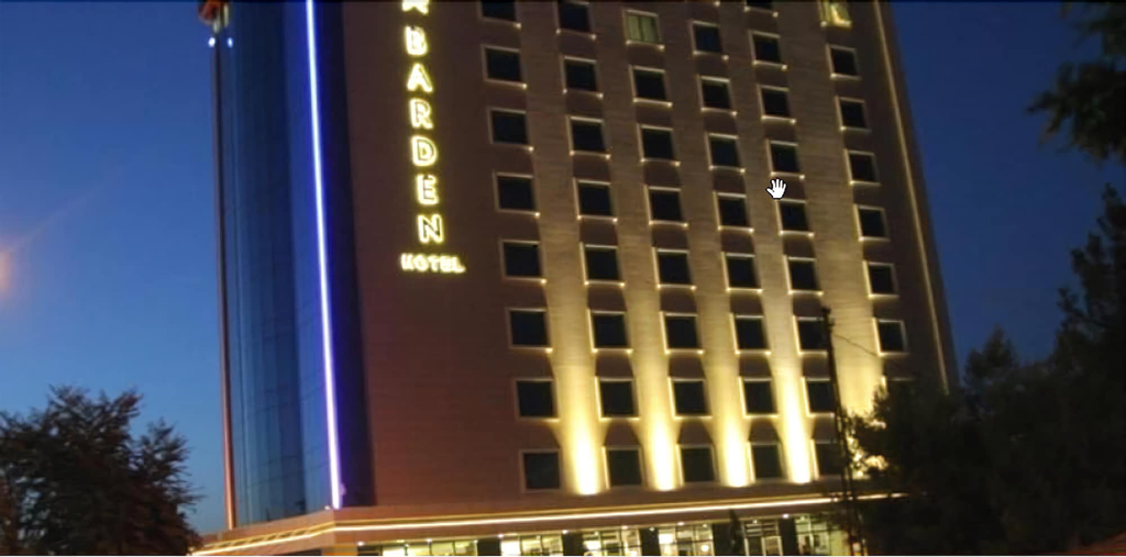 Barden Hotel, Merkez