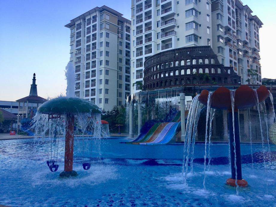 Bayou Lagoon Park Resort Residence, Kota Melaka