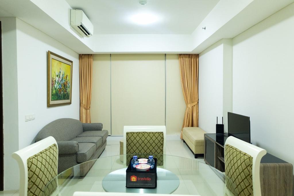 Cozy and Elegant 2BR Kemang Village Apartment, South Jakarta