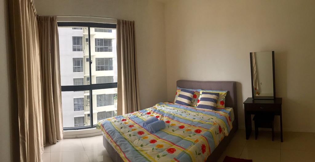 Daruma Service Apartment, Penampang
