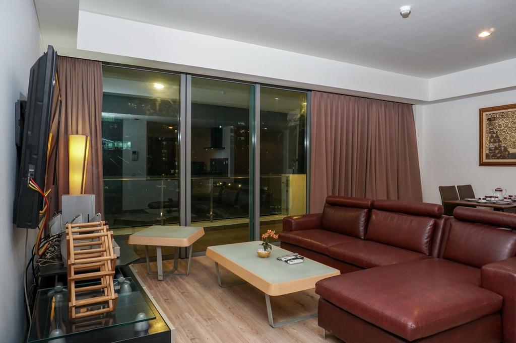 Modern 3BR Apartment at St. Moritz Residence, Jakarta Barat